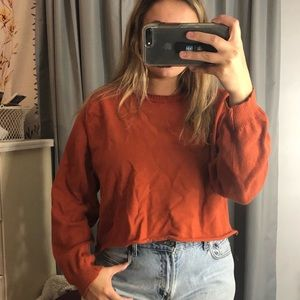 Tommy Bahama cropped sweater